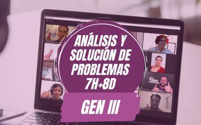 Análisis y Solución de Problemas 7H+8D Gen III