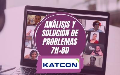 KATCON Análisis y Solución de Problemas 7H+8D Marzo 2021