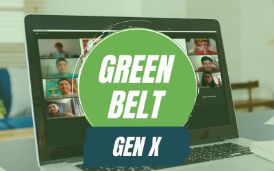 Six Sigma Green Belt Gen X